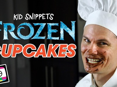 How To Make FROZEN Cupcakes - Kid Snippets