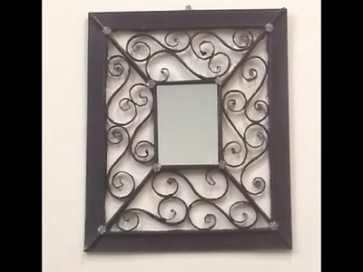 How to make mirror frame