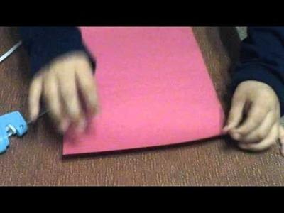 How to make paper binoculars
