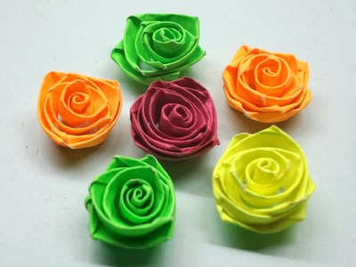 How to make Quilling Rose Flowers. Paper Quilling Rose