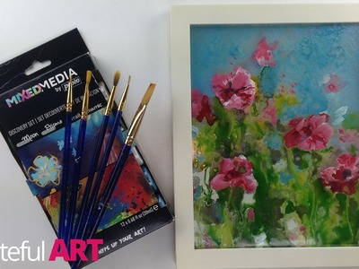 How to Use Pebeo Paints --On Glass