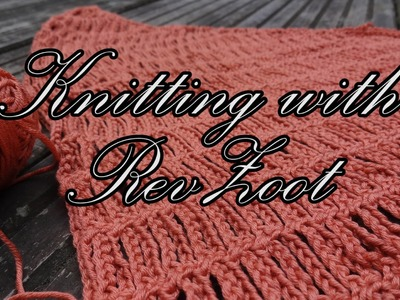 Scarf Series #2: How to Reverse Stitching Direction
