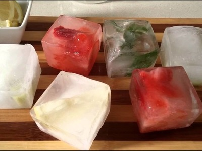 SUMPRI ICE Molds -How To Make Giant Ice Cubes?