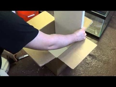 #349: How to Insulate Cardboard Box with Styrofoam - Tank Tip