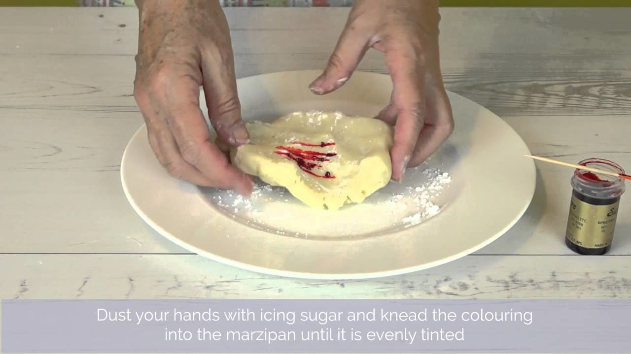 Bake Club presents: How to Colour Marzipan