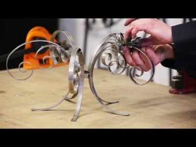 Candelabra, how to make, metalcraft uk.