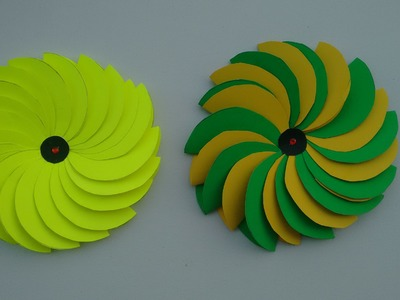 Craft Idea- How to make beautiful paper flower