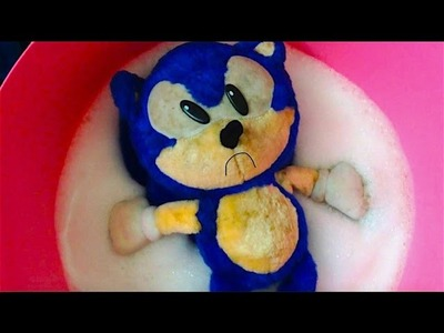 How I clean Plush Toys-Sonic the Hedgehog Plushies