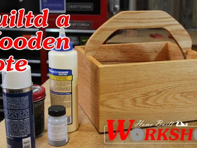 How to Build a Wooden Tote Box