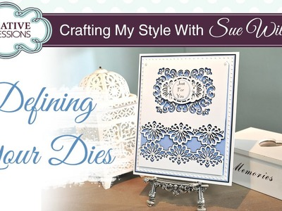 How To Create a Shadow Effect on Your Dies | Crafting My Style with Sue Wilson