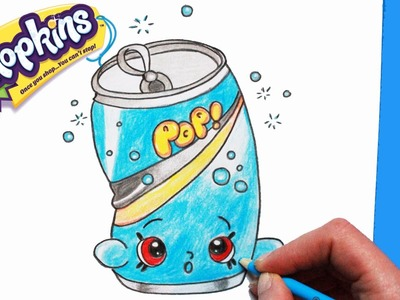 """How to Draw Shopkins Season 1 """"Soda Pops"""" 
