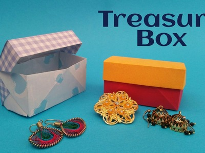 "How to fold. make a Paper ""Treasure. Jewelry Box"" - Useful Modular Origami Tutorial"