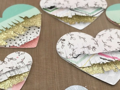 How To ~ Fringed Hearts - Maggie Holmes Bloom Inspired