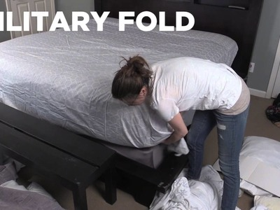 How to make a bed with Elissa the Mom | Rare Life