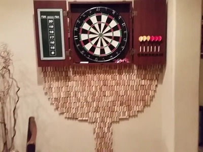 How to make a cool dart board back on Stu's Channel
