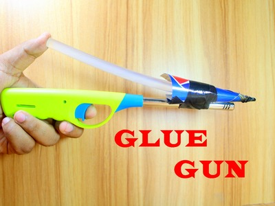 How to make a Hot Glue Gun at home | Very Simple Hot Glue Gun