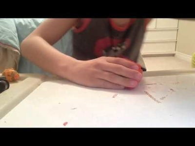 How to make a pencil holder from clay
