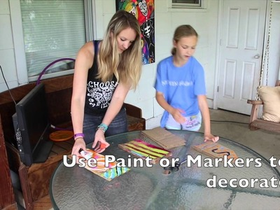 How to Make a Star out of Paper Bags