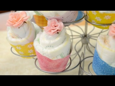 How to Make Diaper Cupcakes - Sprinkle Some Fun Facebook Live 4.27.16