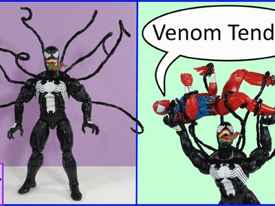 How to Make Easy, Flexible Venom Symbiote Tendrils for your Action Figure