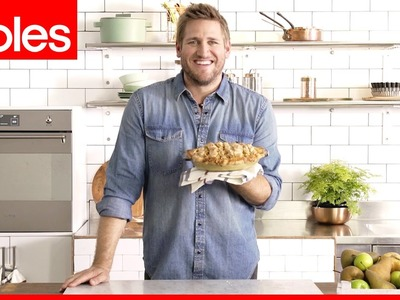 How to make lattice pastry twists for pies with Curtis Stone