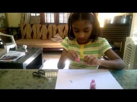 How to make mini pencils by Renuka