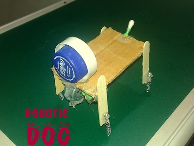 How to make robotic pet -  toy for kids - sdik rof