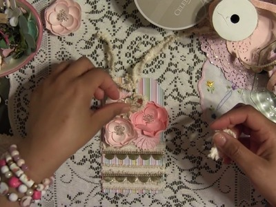 How to Make Simple Gift Tag - Step by Step Tutorial Scrapbooking Crafty Idea