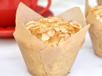 How to make your own tulip-shaped muffin liners by Cooking with Manuela