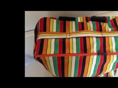 How to sew a max size cabin bag