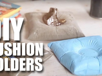 Mad Stuff With Rob - How To Make DIY Cushion Holders | Room Decor Ideas