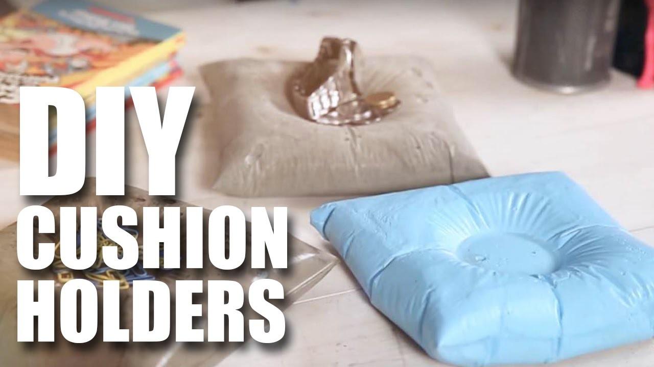 Mad Stuff With Rob - How To Make DIY Cushion Holders | Room Decor Ideas