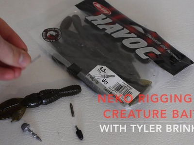 Rigging How-To:  Neko Rig  a Creature Bait