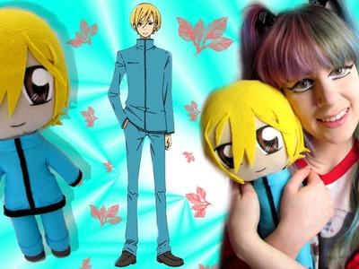 Tonari no Kaibutsu. My Little Monster- TUTORIAL, how to make a Yamaken.Yamaguchi Kenji Plushie