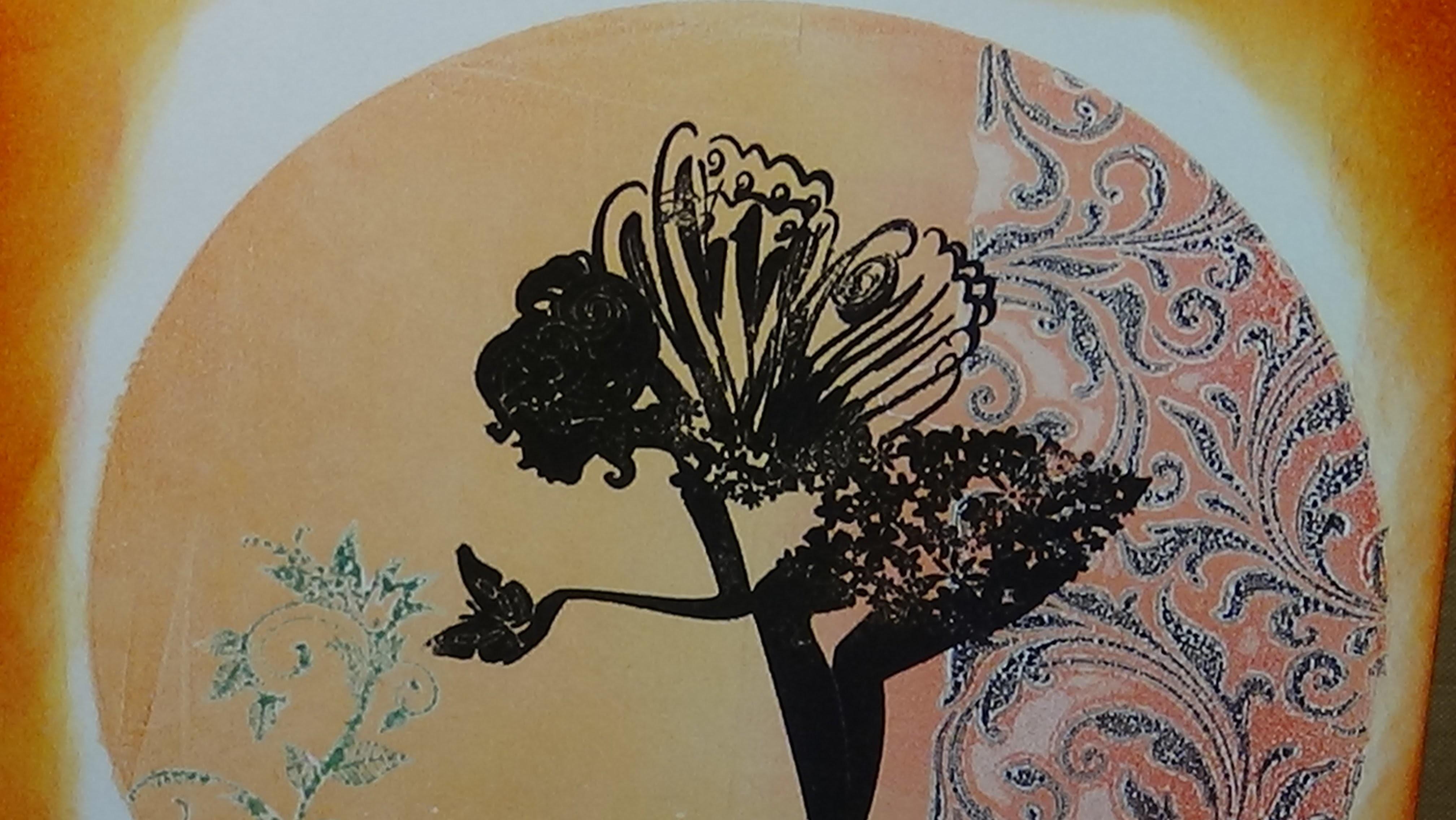 Cómo usar los Geli Plates de Arts – How to use Rub on Foils  - Hadas