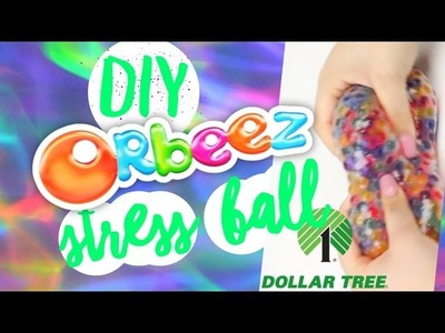 DIY | Dollar Tree Orbeez Stress Ball - HOW TO MAKE AN ORBEEZ STRESS BALL FROM THE DOLLAR TREE!!!
