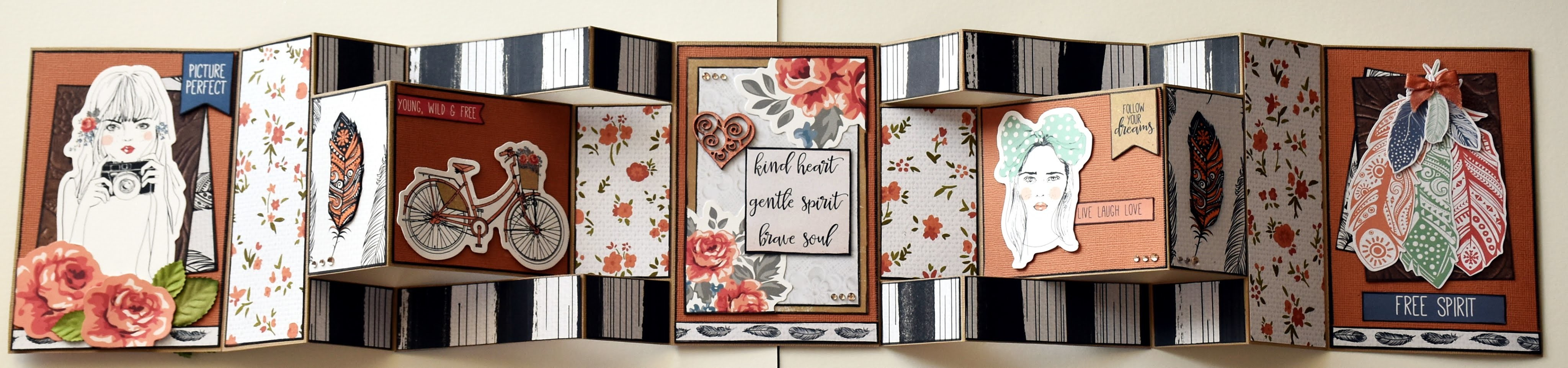 Extended Gatefold Card - How to make one!