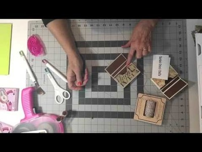 'HOW TO' Business card.Gift card holder