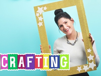 How to Craft a Duck Glitter® Crafting Tape Photo Booth Frame