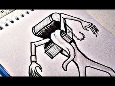 How To Draw DARK SOULS MIMIC