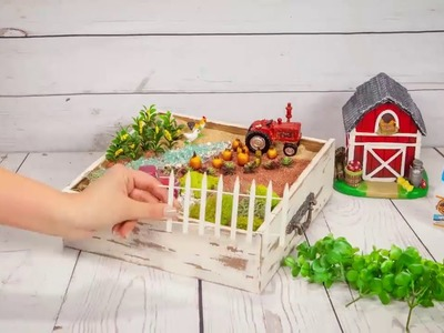 How To: Farm Fairy Garden