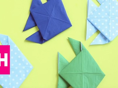 How To Fold a Fish Napkin with @OrigamiTree | GH
