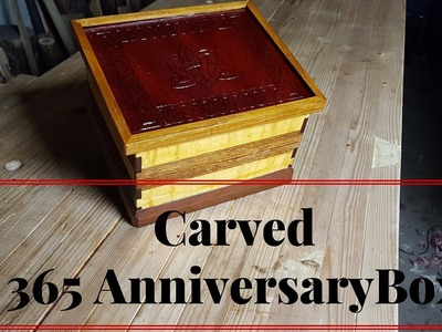 How to Make A 365 Box for An Anniversary Gift From Wood Scraps of Wood