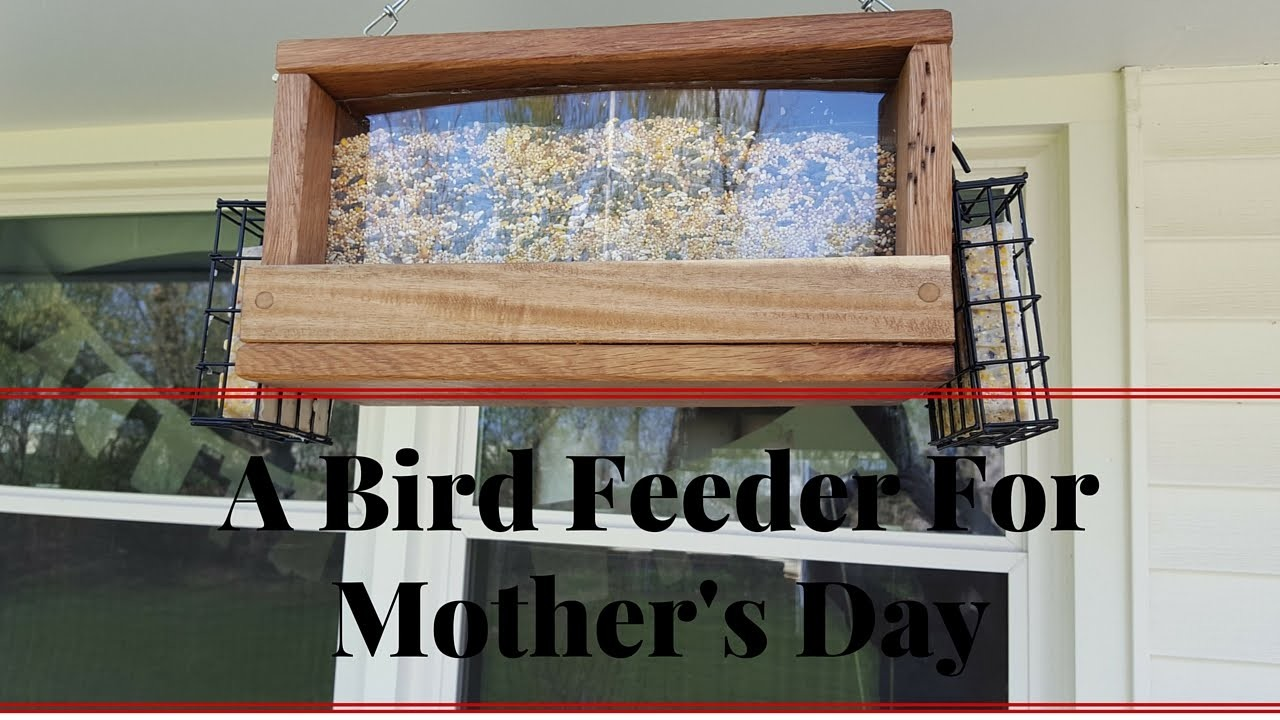 How To Make A Bird Feeder for Mother's Day With The Kids