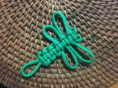 How To Make A Decorative Paracord Dragonfly - Tutorial