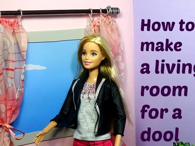 How to make a living room for doll  How to make a room for doll DIY for Dolls