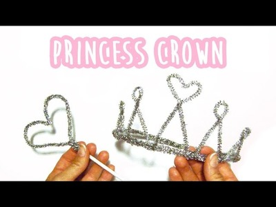 How to make a princess crown with pipe cleaners