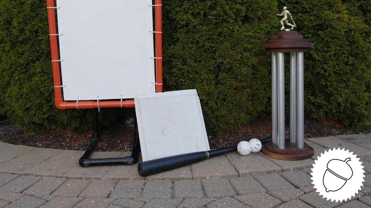 How to Make a Trophy   4 Pillar Design