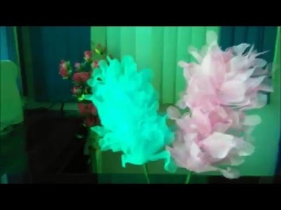 How to make aarkandi  and waste cloth beautiful flowers sitcks  (Crafts) for creative students etc.