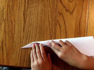 How To Make An Amazing Paper Airplane In Under 60 Seconds